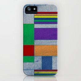 Mid-Century Modern Art - Rainbow Pride 1.0 iPhone Case