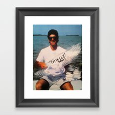 Totally Brah Framed Art Print