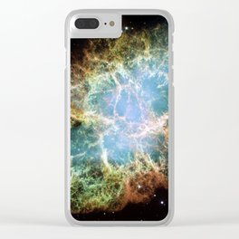 anatomy of an interstellar crab | space #15 Clear iPhone Case
