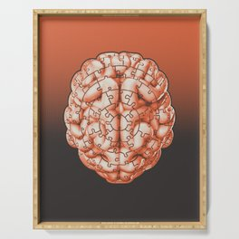 Puzzle brain GINGER / Your brain on puzzles Serving Tray