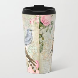 Vintage birds Travel Mug