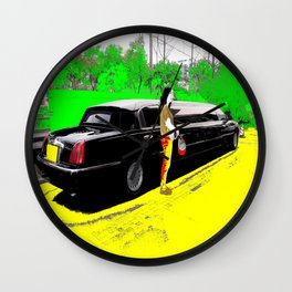 Limo Wall Clock