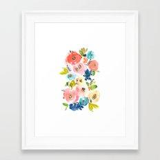 Floral POP #2 Framed Art Print