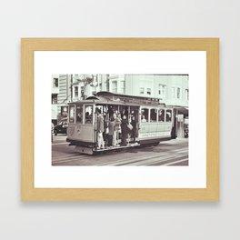 CableCar Framed Art Print
