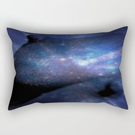 Galaxy Breasts / Galaxy Boobs 2 Rectangular Pillow