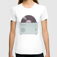 high T-shirts featuring High Fidelity Toaster by Florent Bodart / Speakerine