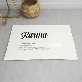 Karma Definition Rug