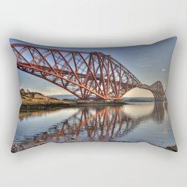 The Forth Rail Bridge Rectangular Pillow