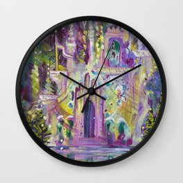 Once Upon A Castle Wall Clock