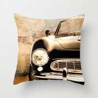 bmw Throw Pillows featuring bmw by Fernando Vieira