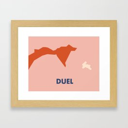 Don't Fuck with Nature: Duel (Season 1, Episode 2) Framed Art Print