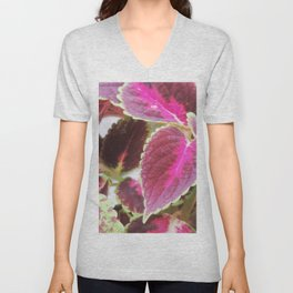 Coleus plants #3 Unisex V-Neck