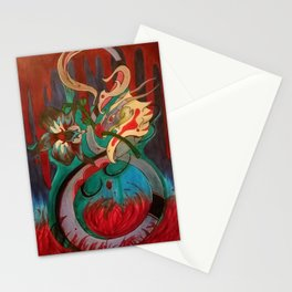 Bloody Orchid Stationery Cards