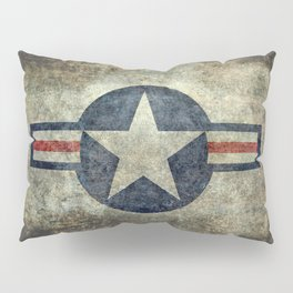 Stylized US Air force Roundel Pillow Sham