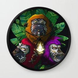 3 Sages Wall Clock