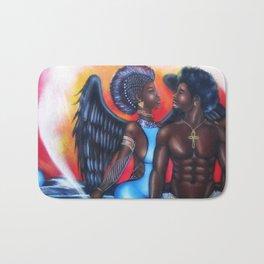 Black Angel Bath Mat
