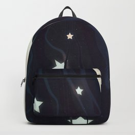 The moon and stars in my hair Backpack