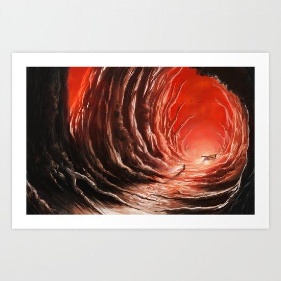 Explorer of Worlds Art Print