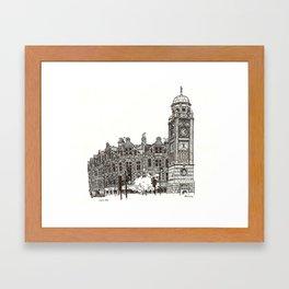 Crouch End Framed Art Print