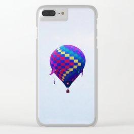 Hot Air Balloon 3 Clear iPhone Case