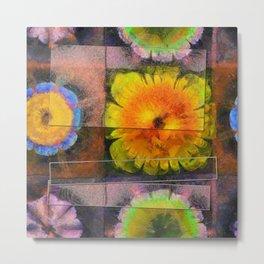 Prehepaticus Framework Flower  ID:16165-082221-45091 Metal Print