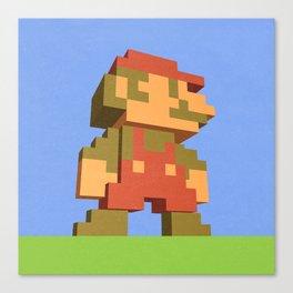 Mario NES nostalgia Canvas Print