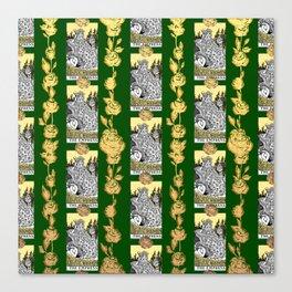 The Empress - A Floral Tarot Print Canvas Print
