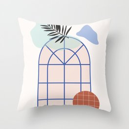 // Royal Gardens 02 Throw Pillow