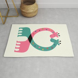 Love With Heart Rug
