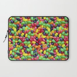 Jelly Bean Candy Photo Pattern Laptop Sleeve