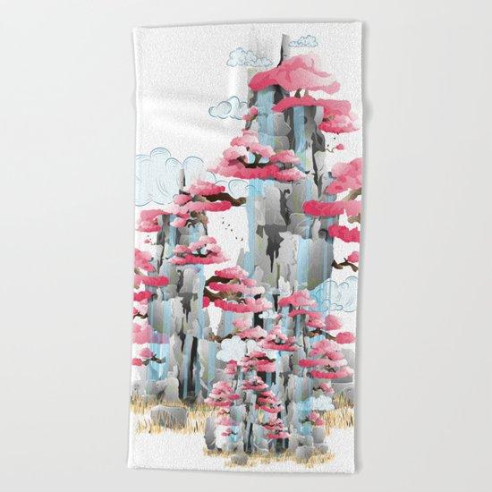 Sacred Mountain Beach Towel