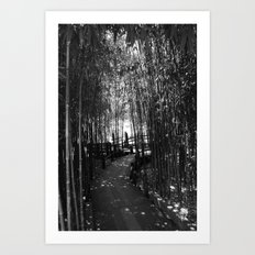 Light at the end Art Print