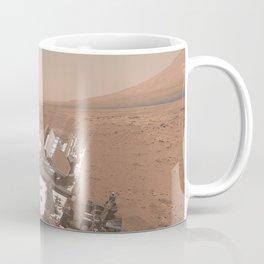 NASA Mars Curiosity — Dust Storm Selfie Coffee Mug