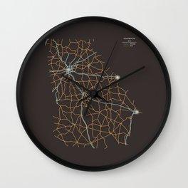 Georgia Highways Wall Clock