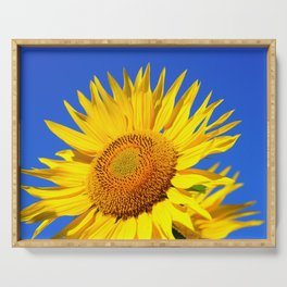 Sun Flower Serving Tray