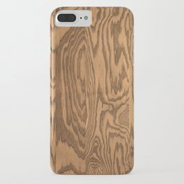 Wood, heavily grained wood grain iPhone Case