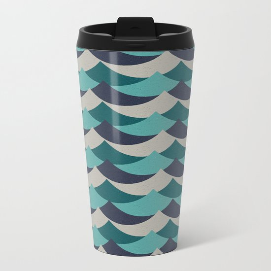Waves Of Fun Metal Travel Mug
