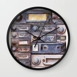 old doorbells Wall Clock