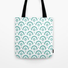 Abstract pattern - blue and white. Tote Bag