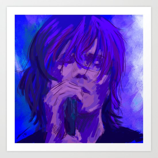just a sad song with nothing to say Art Print