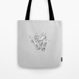 Penrose Manifold Tote Bag