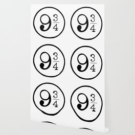 Platform 9 3/4 Nine And Three Quarters Wallpaper
