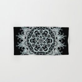 Mandala shadow Hand & Bath Towel