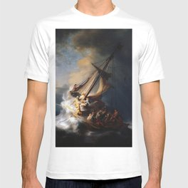 The Storm on the Sea of Galilee, Rembrandt T-shirt