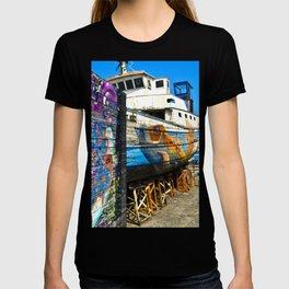 Old Sicilian Port of Alcitrezza T-shirt