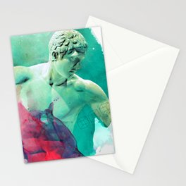 The Discobolus of Myron Stationery Cards