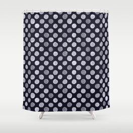 Vesper Dots Shower Curtain