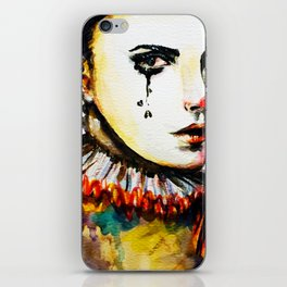 Who's the clown? iPhone Skin
