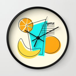 Squeeze Wall Clock