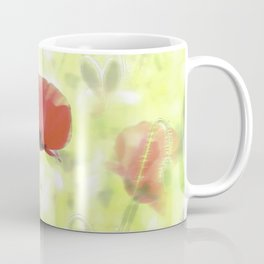 Poppies in the bright sunshine Coffee Mug